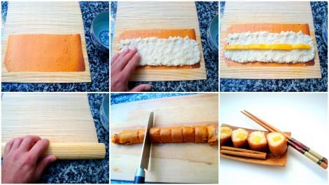 sushi de arroz con leche y mango4